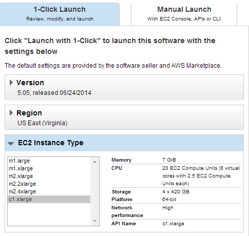 Launch an instance of Adobe Media Server