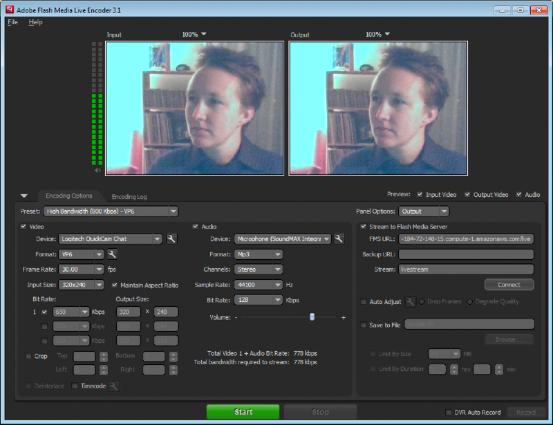 How to: flash media live encoder 3. 1 notes from ensemble video.