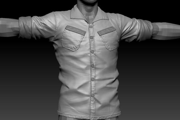 Making clothes marvelous designer style(blender) (page 1.