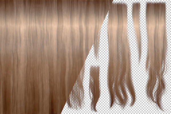 create custom hair for your fuse character