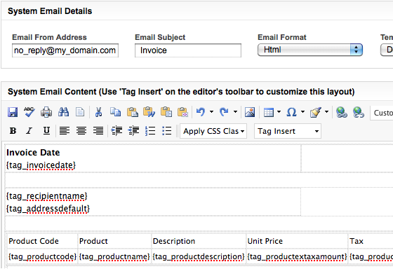 Invoice Address Pdf Business Catalyst Help  Using Consolidated Billing To Manage  Forwarders Cargo Receipt Excel with Rent Receipt Letter Word Update The System Email Details Page To Adjust The Appearance Of The  Invoice For More Details See Customize System Pages And Emails Project Management And Invoicing Word