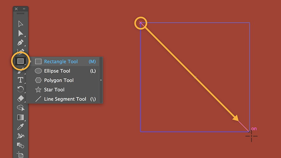 How to make an outline of a shape in illustrator