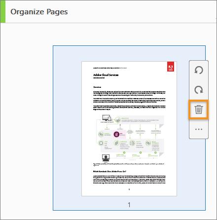 كيفية حذف صفحات من ملف Pdf