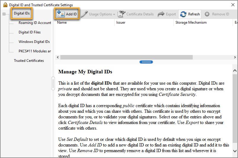 how to validate pdf signature