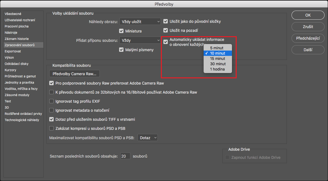 Optimalizace výkonu aplikace Photoshop CC 9d58f6716b
