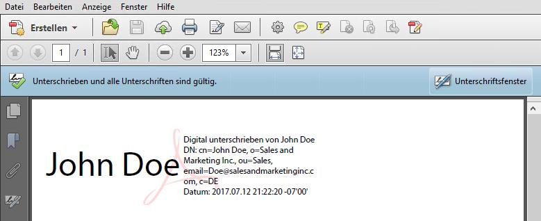 Digitale Unterschrift in Outlook erstellen