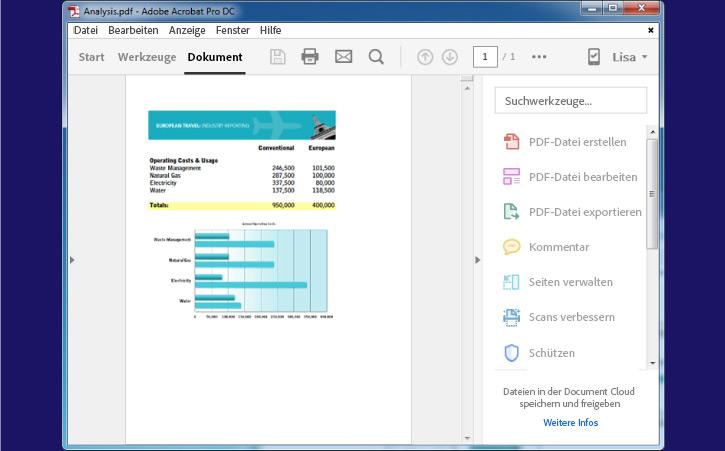 wordpad dokument als pdf speichern