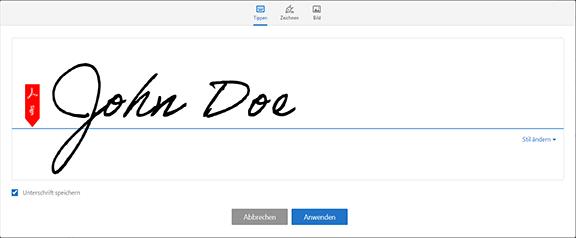 Signieren Von Pdf Dokumenten In Adobe Acrobat