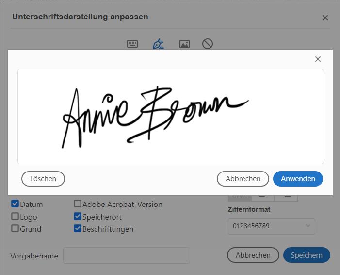 Einfaches Unterschreiben auf Windows 10-Geräten