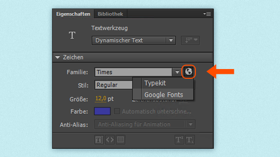 how to add google fonts