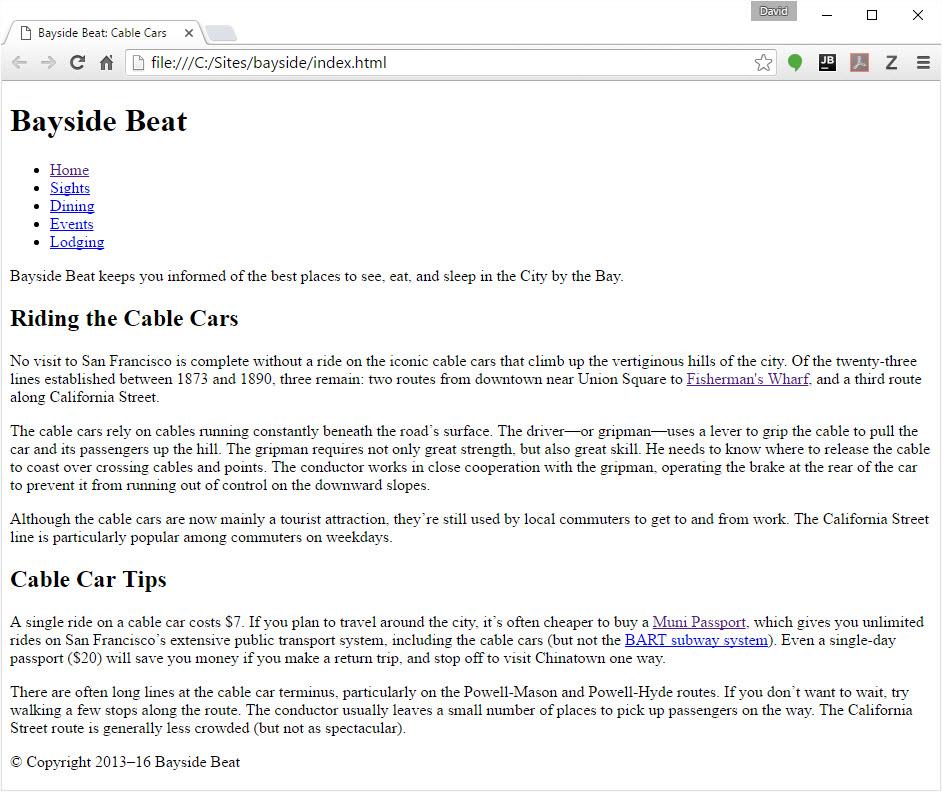 Website in Dreamweaver erstellen: Teil 4 – Schriften ändern und ...