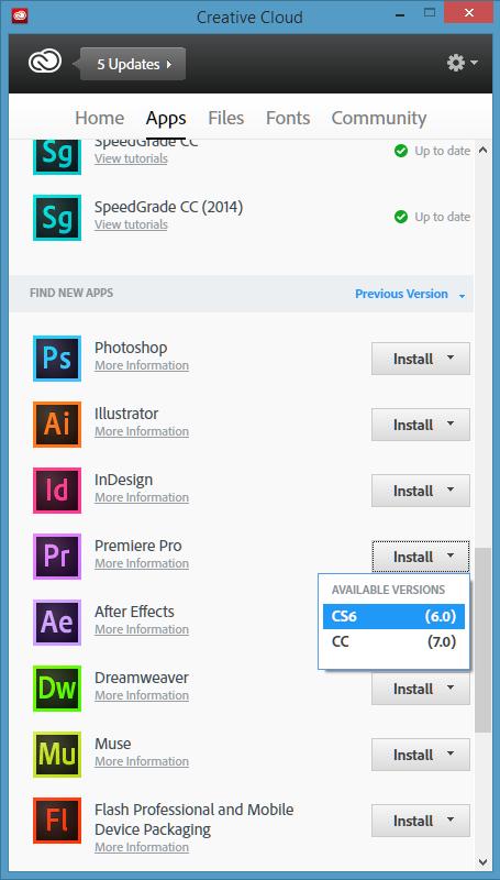 Herunterladen Und Installieren Von Adobe Encore Cs6