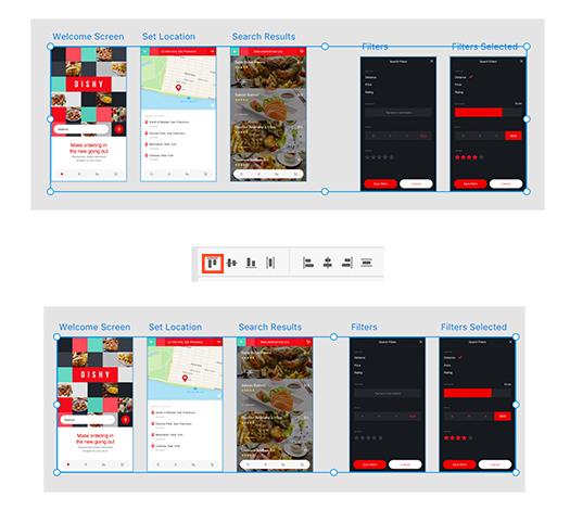 Zeichenfl chen und raster in adobe xd for Product design help