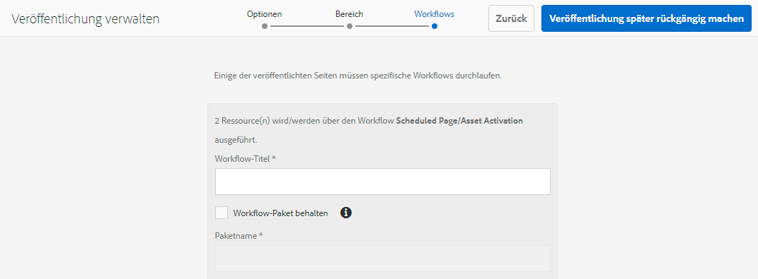 UnpublishWorkflows
