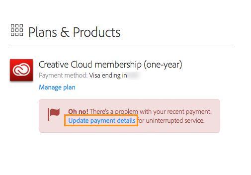 Adobe Zahlungsmethode Г¤ndern