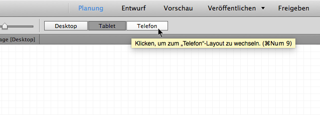 Auswählen des Telefonlayouts (alternatives Layout)