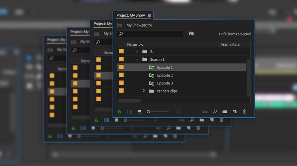 Videos im Team bearbeiten | Adobe Premiere Pro CC-Übungen