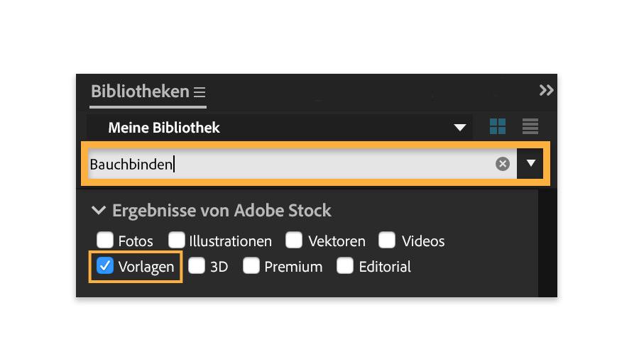 Mit Animationsvorlagen aus Adobe Stock arbeiten   Adobe Stock-Übungen