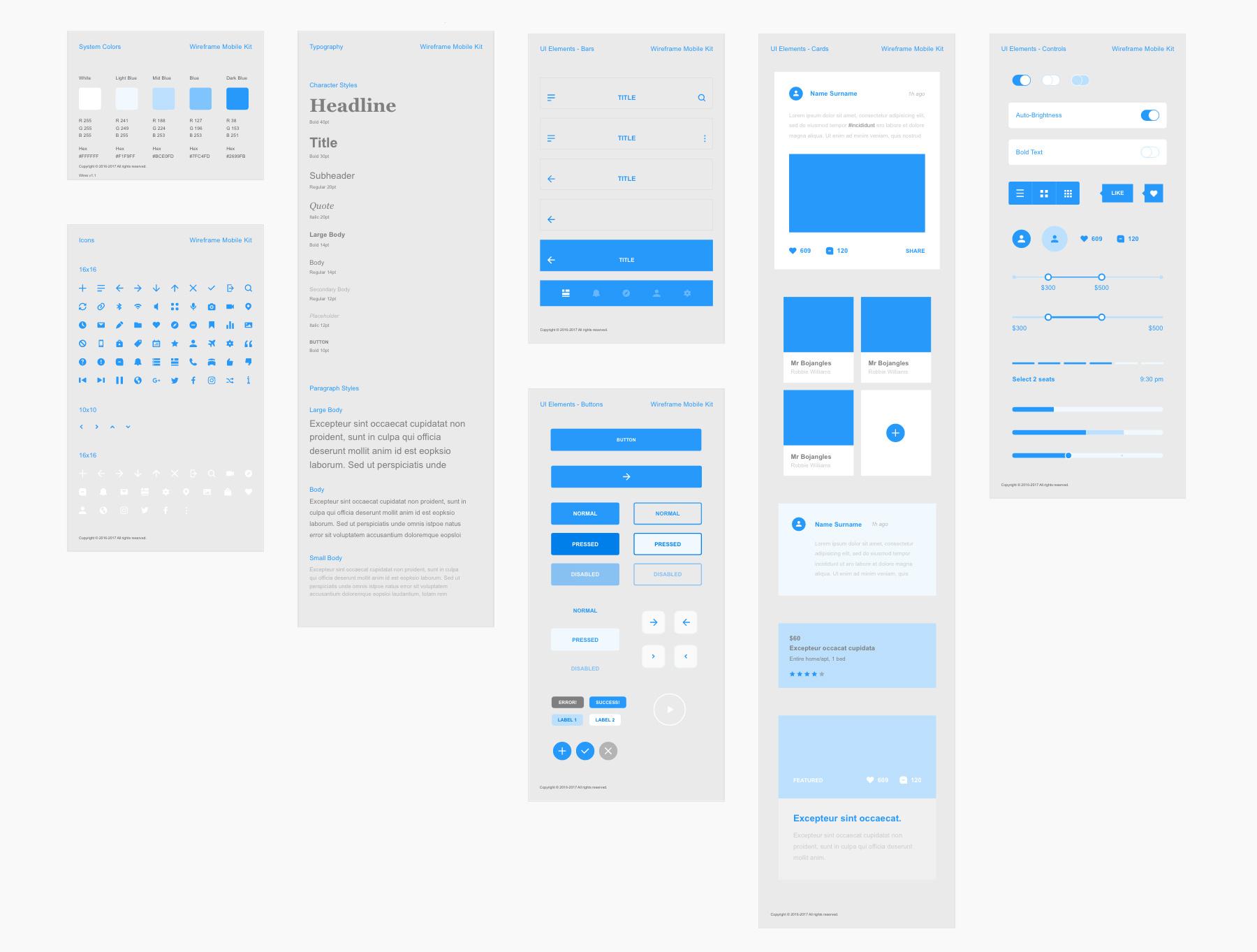 Appdesigns Mit Ui Ressourcen Oder Ui Kits Beginnen Adobe Xd Tutorials