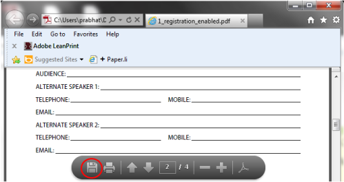 Save form, then open in Acrobat and select Sign > Add Text.