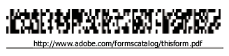A type of barcode, with the URL reference below
