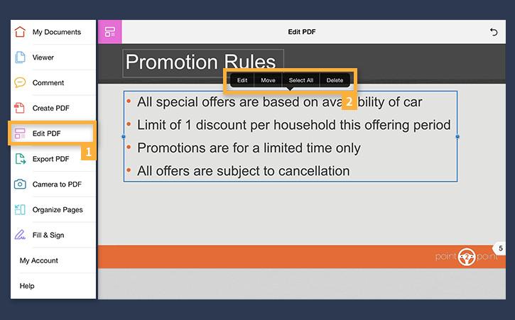 Edit PDFs on mobile | Adobe Acrobat DC tutorials