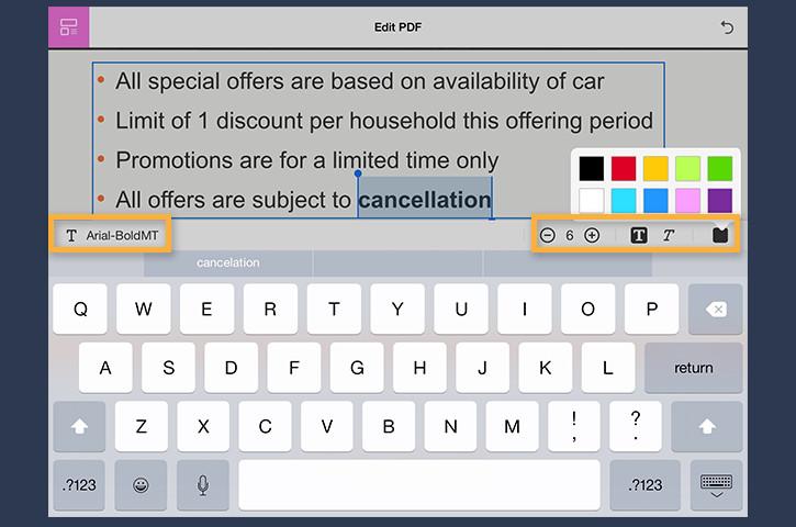 Edit PDFs on mobile | Adobe Acrobat XI Pro tutorials