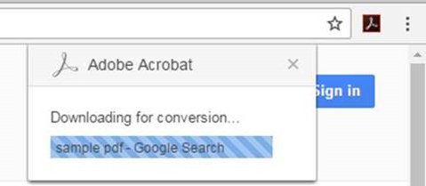 Acrobat Chrome extension doesn't work if Acrobat Reader DC and