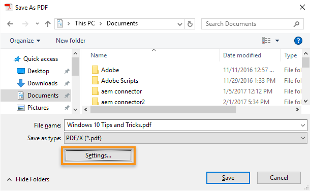 Create high-resolution print-ready PDFs using Acrobat DC