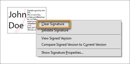 Edit a signed PDF | FAQ