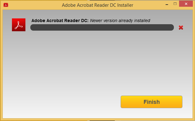 Install from the Acrobat Reader Download Center