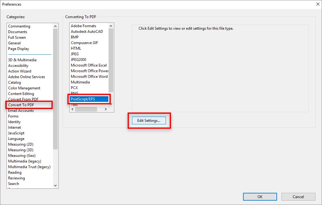 How to disable the security warning dialog before postscript