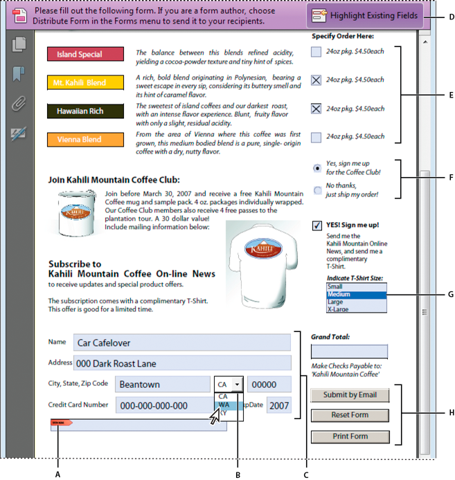 Create and distribute PDF forms using Adobe Acrobat