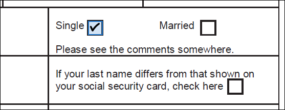 Checkbox field auto-detected
