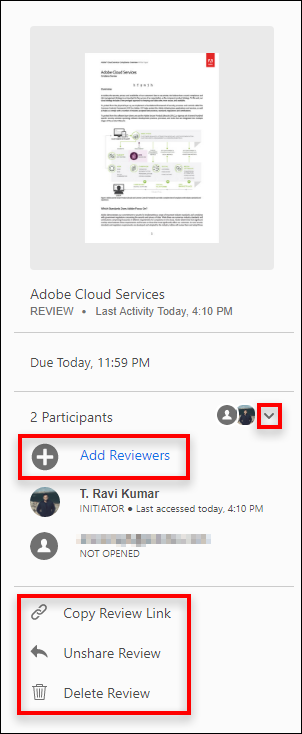 Tracking And Managing Pdf Reviews