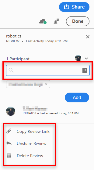 Options for initiators