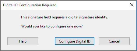 Configure Digital ID prompt