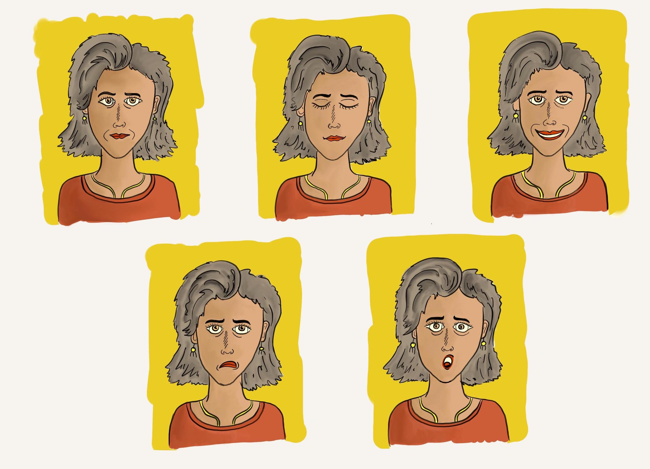 Record your expressions and get started