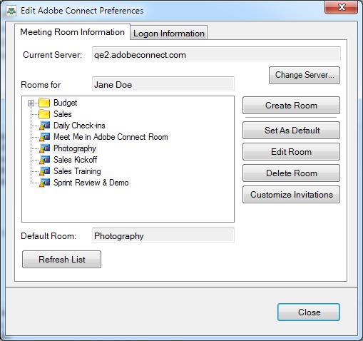 Adobe Connect Add-in for Microsoft Outlook の新機能