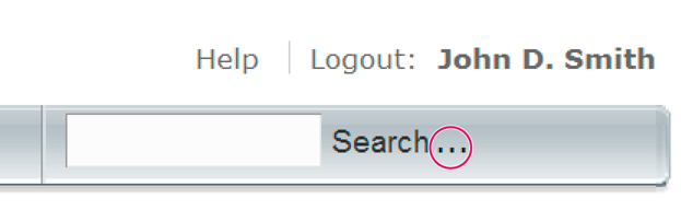 Adobe Connect Central search field.