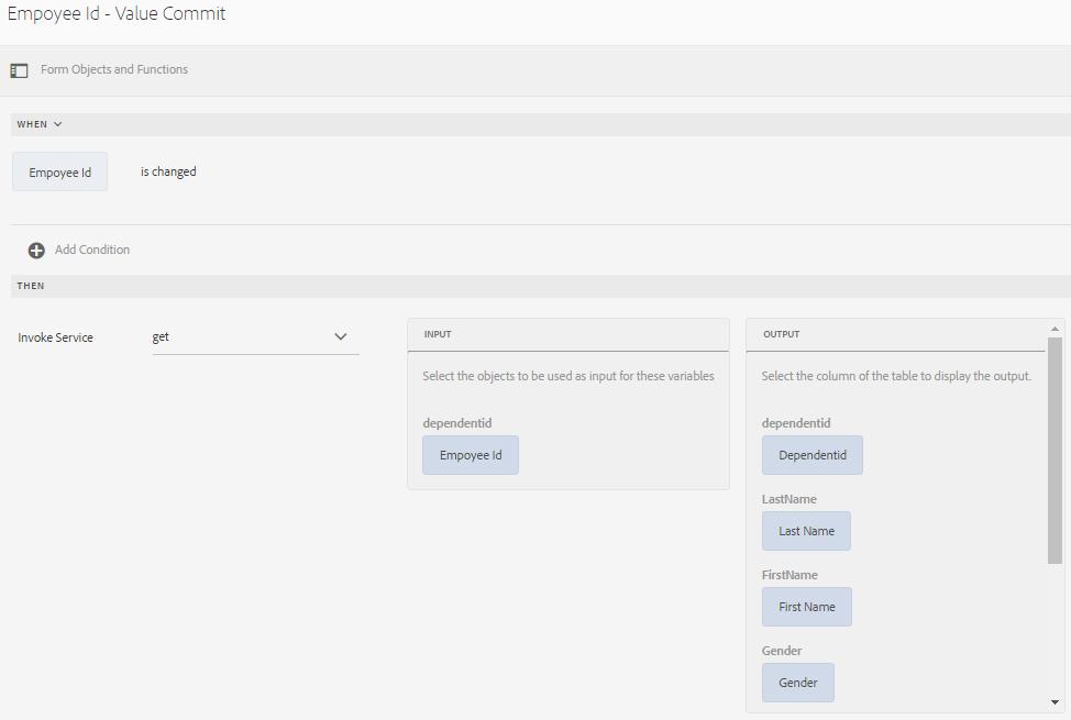 AEM Forms Data Integration
