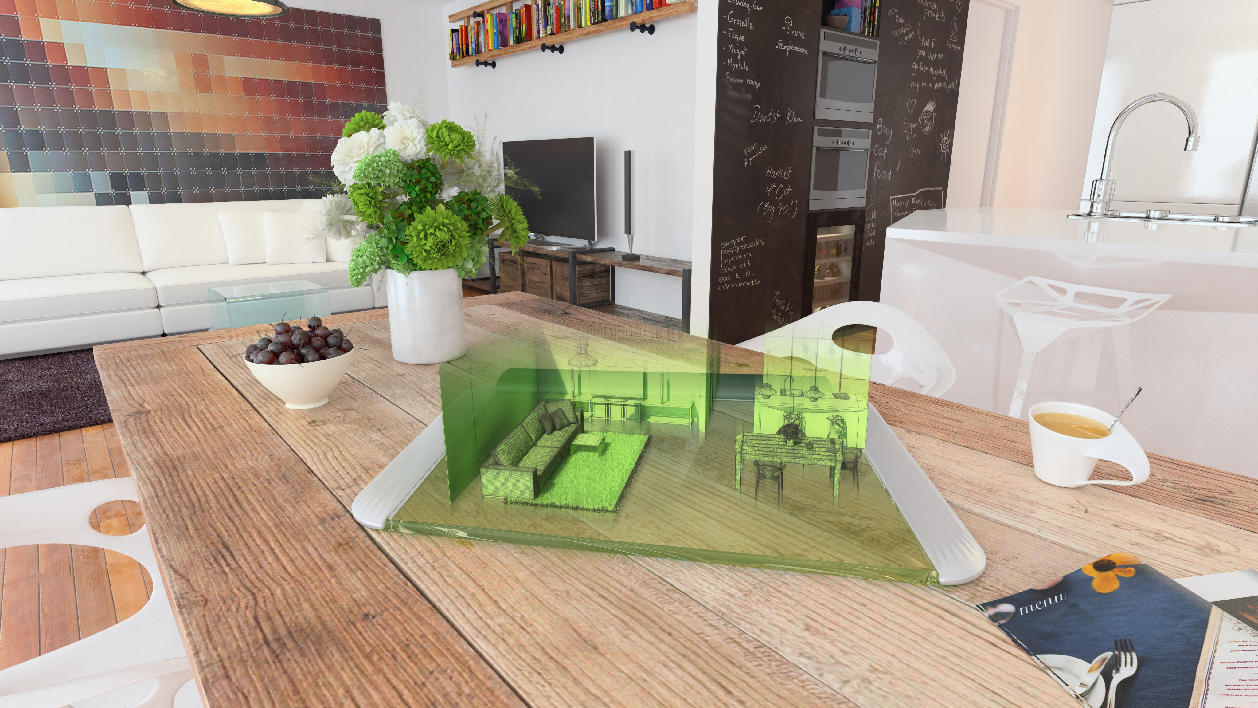 Augmented Reality Kitchen