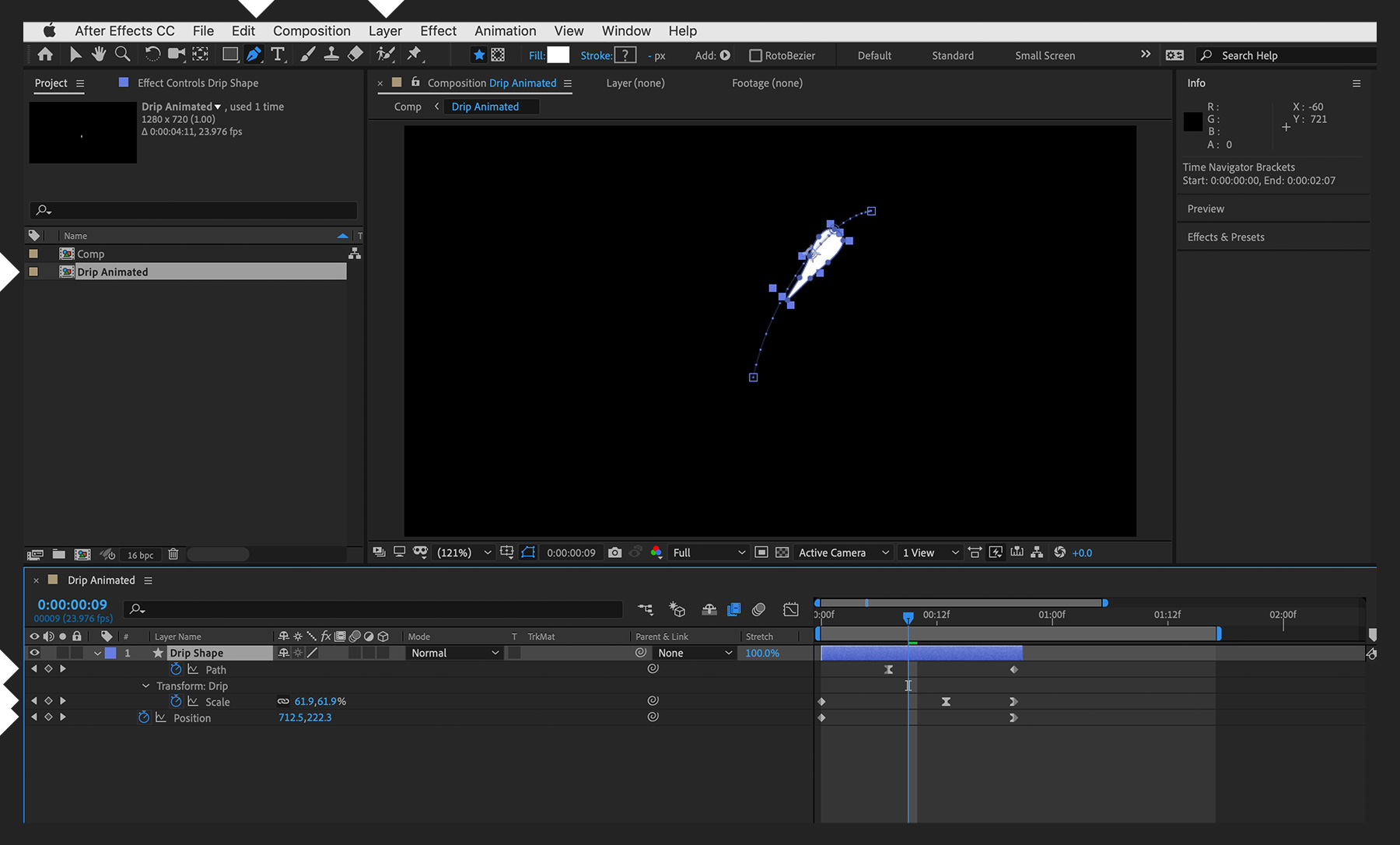 After Effects Signature Animation