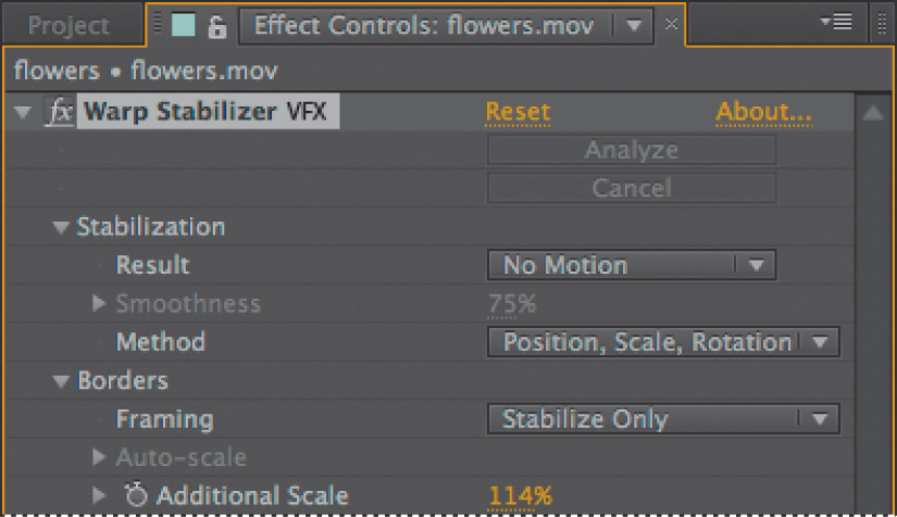 How To Stabilize Shaky Video Footage In After Effects Adobe After
