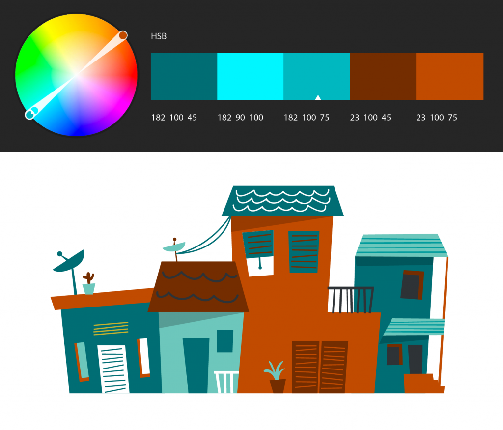 Learn to use the Adobe Color Themes extension to easily choose ...