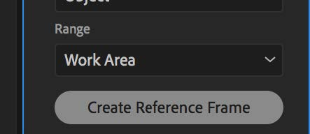 Click Create Reference Frame