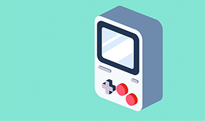 make and animate a 3d video game device adobe after