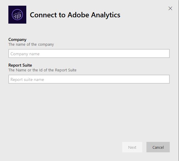 Integrate Adobe Analytics with Power BI