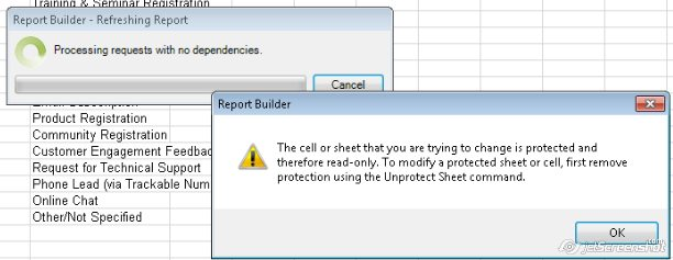 remove protection from excel cell