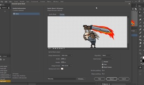 Export Spritesheet and texture atlas from Animate | Adobe